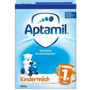 适合一岁以上的宝宝Aptamil 1+儿童奶粉 5连包 好价热卖 不用再去超市扛