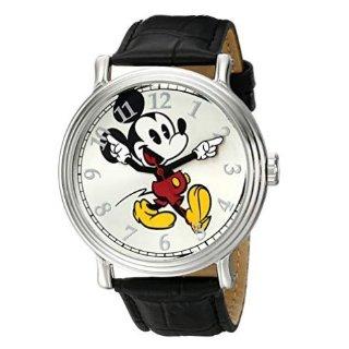 $20.49(原价$49.99) 带上它去迪士尼Disney 米老鼠超萌圆形手表,双色可选