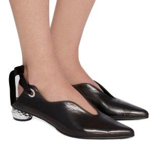 Yuul Yie系带中跟鞋