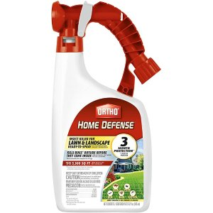 ORTHOHome Defense Insect Killer for Lawn & Landscape Ready-to-Spray - Treats up to 5,300 sq. ft, Kills Ants, Ticks, Mosquitoes, Fleas & Spiders, Starts Killing Within Minutes, 32 oz.
