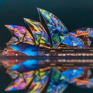 巡游+自助$20起 Austral Flora Ballet倒计时4天:VIVID SYDNEY 2019缤纷悉尼灯光节