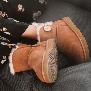 5折起+叠8.5折 £77收棉靴UGG 雪地靴圣诞大促 每年冬天必备一双