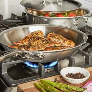 低至3折+ 满$75额外9折Home & Cook 精选All-Clad 顶级不锈钢锅具工厂店限时大促