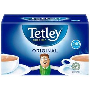 Tetley 原味红茶240包 750g 自制下午茶奶茶必备