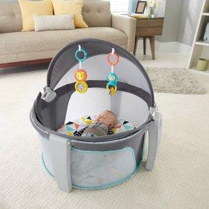 $59.97(原价$99.99)费雪Fisher-Price  婴儿睡眠/玩乐二合一便携式围栏