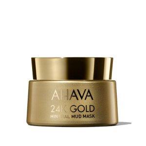 Ahava24K Gold Mineral Mud Mask