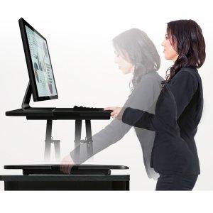 $49.99Rosewill 29寸可调节升降电脑桌 站立办公桌