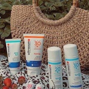 无门槛7折 £15收抗衰防晒Ultrasun 林允、娜扎推荐的瑞士专业防晒 夏日必备抗衰老