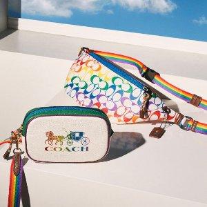 低至$45上新:COACH Outlet Pride系列服饰包袋热卖