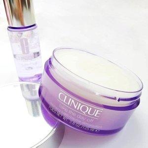 无门槛7折+满额送6件套Clinique 彩妆吸尘器 性价无敌高紫胖子 敏感肌也可用