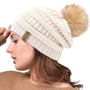 $11.99(原价$22)多色选Amazon精选女士针织帽特卖