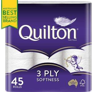 8折+订阅享九折Quilton 卫生纸 家庭必备