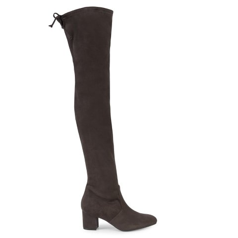 Genna Over-The-Knee Faux Suede Boots