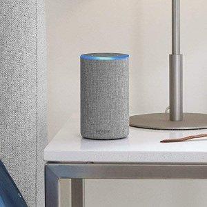 $49.99(原价$129.99)史低价:Amazon Echo 2代 智能音箱 松石色更显高级