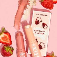 Colourpop Strawberries N' Cream 高光腮红