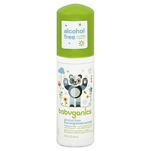 BabyGanics1.69 oz. Fragrance-Free Alcohol-Free Foaming Hand Sanitizer
