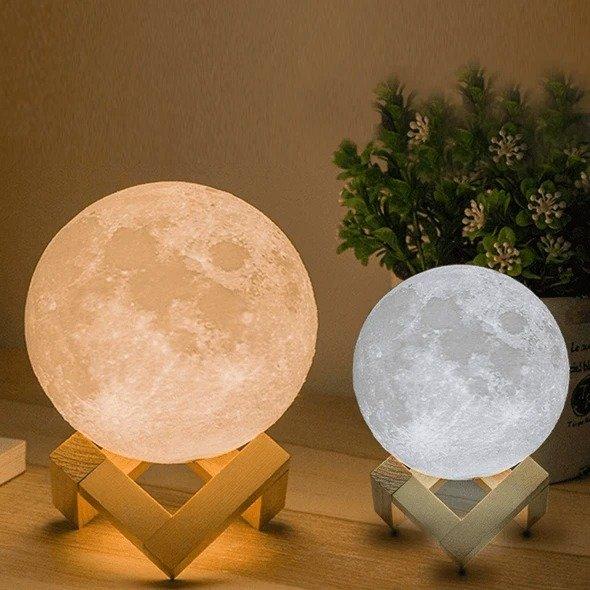 月亮造型小夜灯