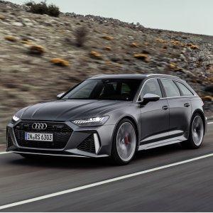 盼星星盼月亮 Wagon车终于来了首次来美 Audi RS6 Avant 591马力 奥迪终极全能奶爸车