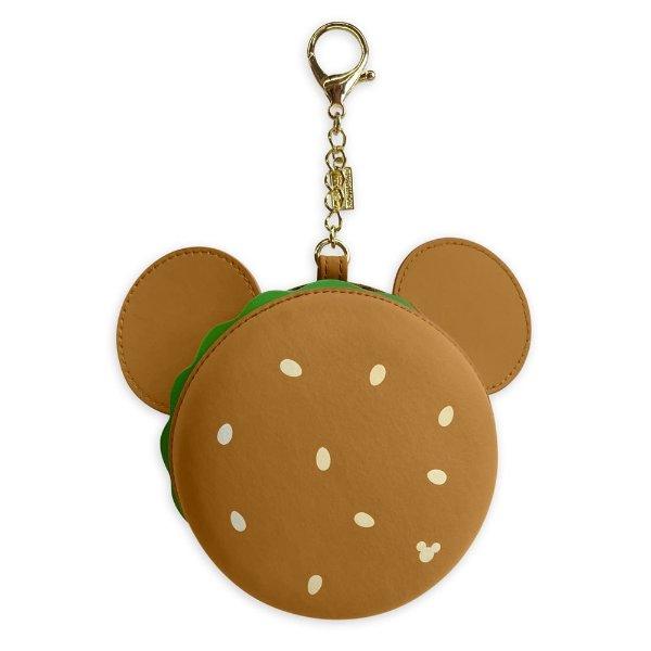米奇汉堡包包链,可以打开