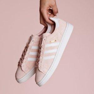低至2.5折+免邮 跑鞋$32起Adidas 鞋履特卖 falcon老爹鞋$63 Deerupt$50
