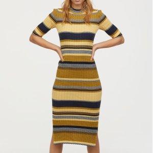 H&MRibbed Dress