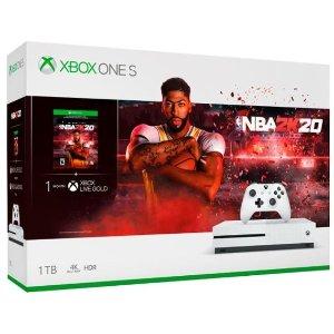 Microsoft - Xbox One S 1TB NBA 2K20 Bundle