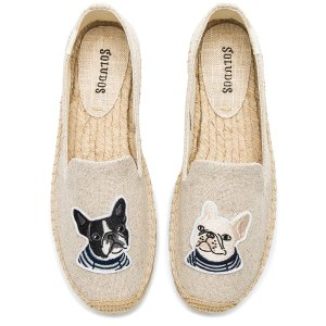 7.5码起Soludos Teddy & Gigi Smoking Slipper