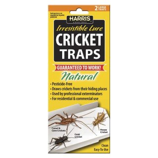 $6.06Harris Natural Cricket Glue Traps with Irresistible Lure (2-Pack)