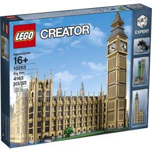 低至65折 大本钟仅需$169(原价$249)Lego 乐高大促销 好价收大本钟 阿波罗V