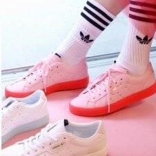 $80 Women's Originals adidas Sleek Shoes