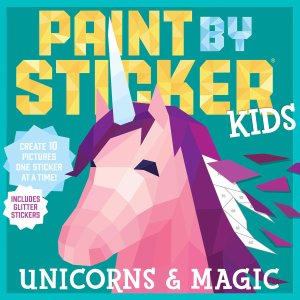As Low As $5.2Paint by Sticker Kids Activity Books Sale