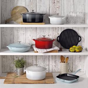 低至6折Denby 英国神仙颜值厨具 砂锅、铸铁锅、餐具杯具超划算
