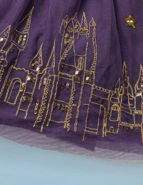 儿童Hogwarts 刺绣连衣裙