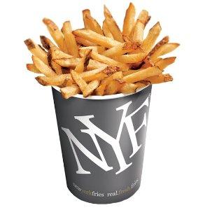7月13日-25日New York Fries 庆祝薯条日 免费送小份薯条