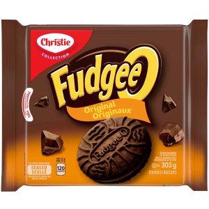 $1.99(原价$3.99)Christie Fudgee-O 巧克力夹心饼干 303g