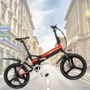 立减$100+包邮 $1799Lankeleisi G650 情侣款电动折叠自行车 夏天一起去兜风