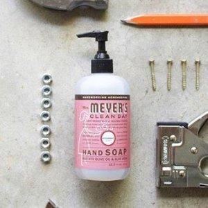 $5.67(原价$5.97)Mrs. Meyer's 梅耶太太天然洗手液 迷迭香味 滋润双手