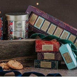 低至3折 £5.4收人气王礼盒折扣升级:Whittard 礼盒、热巧、咖啡、风味茶饮大降价