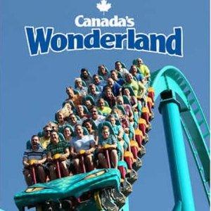 $29.99美元(原价$47.56美元)多伦多 Canada's Wonderland 奇幻乐园一天门票促销