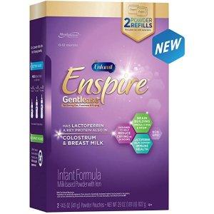EnfamilEnspire Gentlease Baby Formula Milk Powder Refill, 29 Ounce - MFGM, Lactoferrin (Found in Colostrum), Omega 3 DHA, Iron, Probiotics, Immune Support