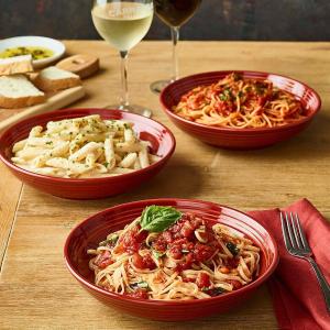 意面+汤品/沙拉菜 仅$10Carrabba's Italian Grill  本周末精选意面餐 实惠价