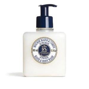 Shea Butter Ultra Rich Hand & Body Wash | L'Occitane USA