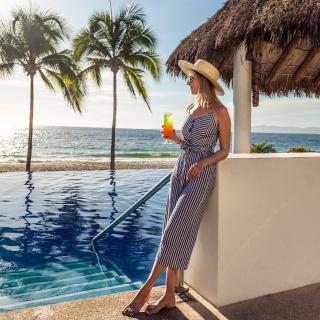 $138起 2019巴亚尔塔港全包酒店 Top 10墨西哥巴亚尔塔港4星级 Hyatt Ziva 全包度假村