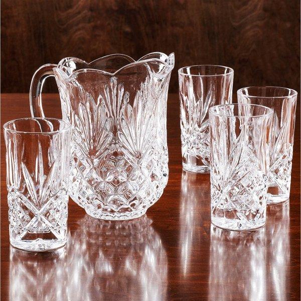 水晶杯具套装 5件套