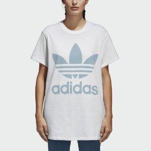 AdidasBig Trefoil 女款短袖T恤