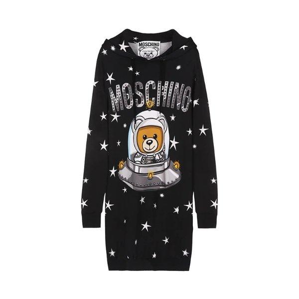 太空熊卫衣裙