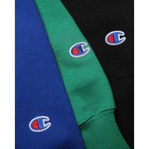 Champion 折扣区情人节大促 收经典Logo卫衣、帽衫、短袖