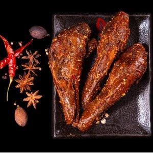 全场8折 香辣烤猪蹄跨洋也能吃到黑五独家:大毛家 鸭脖、鸭舌、麻辣香肠等秘制卤味促销