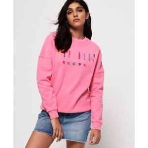 SuperdryCarly Carnival Embroidered Crew Sweatshirt