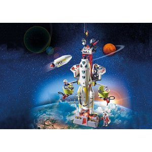 PLAYMOBIL®Mission Rocket with Launch Site